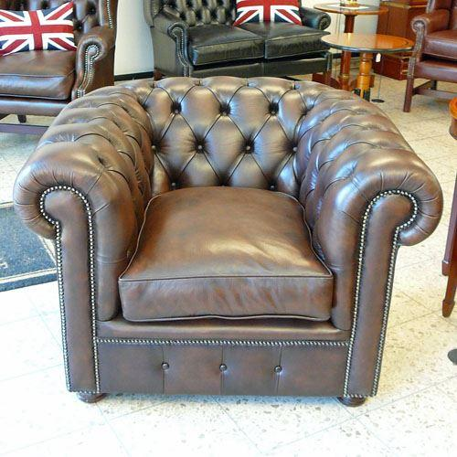 cc301st Classic Chesterfield Chair