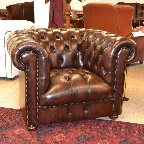 cc301sta Classic Chesterfield Chair