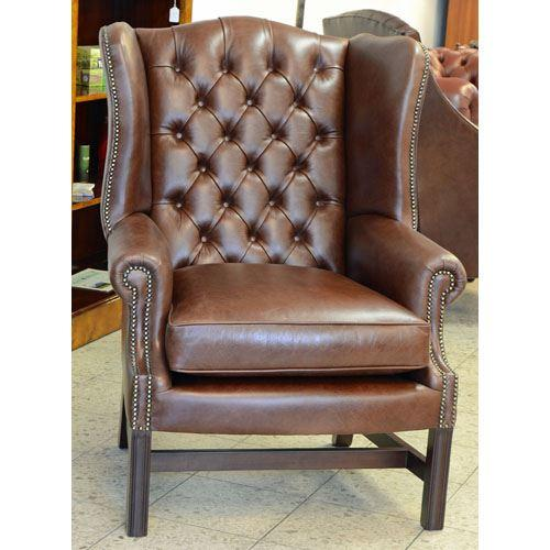 cc101m Georgian Wing Chair