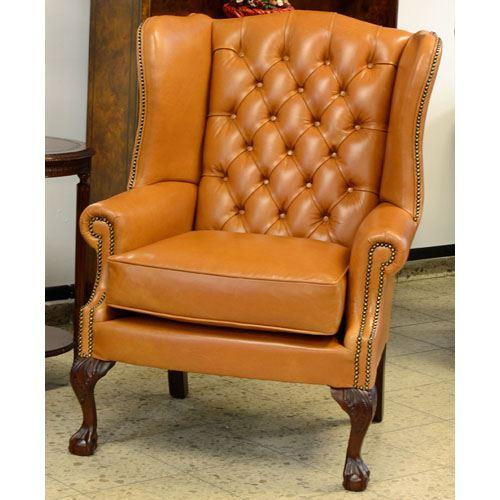 cc102m Ball & Claw Wing Chair