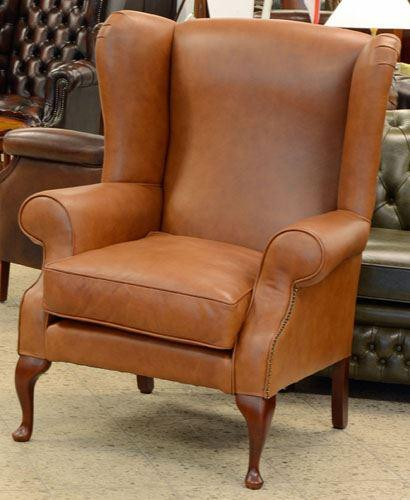 London Wing Chair - Ohrensessel -