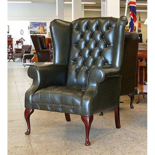 cc103aa London Wing Chair, buttoned