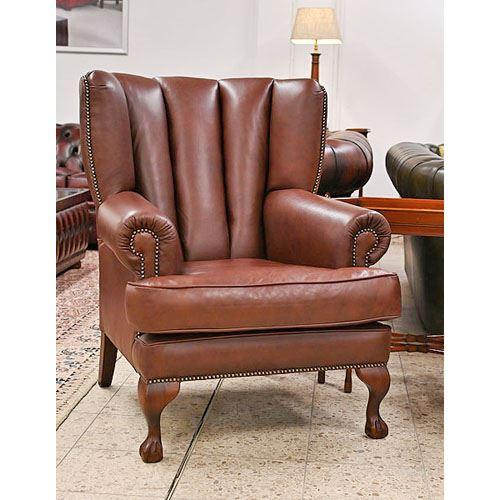 cc221fb Pamela Wing Chair - fluted back