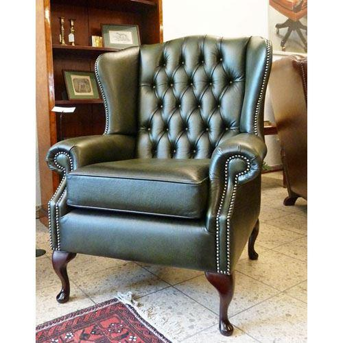 cx131 Classic Wing Chair - olive