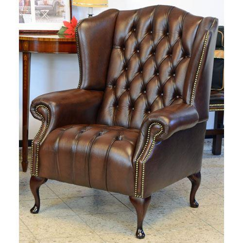 cx131a Stirling Wing Chair - braun