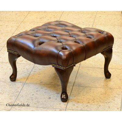 cv205as Queen Anne Footstool - small