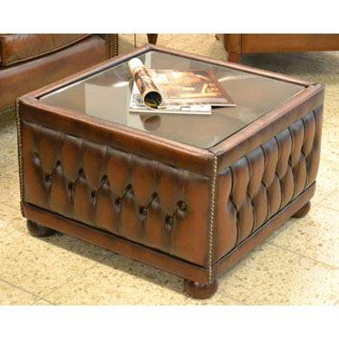 cx307a Ottoman Table - Glasplatte