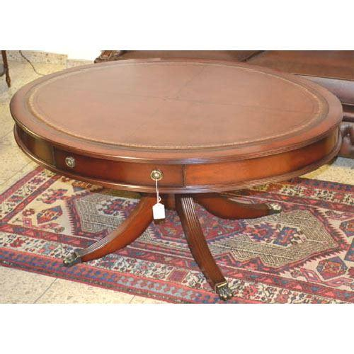 Drum Coffee Table - oval- OL1200