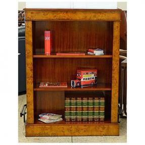 Small Bookcase - Burlwood